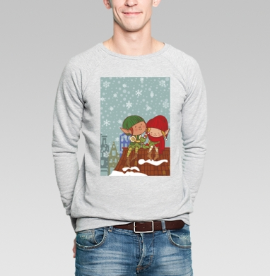 эльфолав - Купить мужские свитшоты милые в Москве, цена мужских свитшотов милых  с прикольными принтами - магазин дизайнерской одежды MaryJane