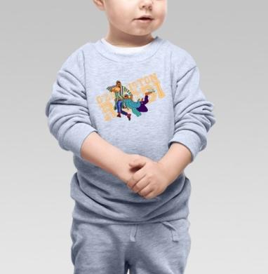 O'zbekiston Regbi, Cвитшот Детский серый меланж