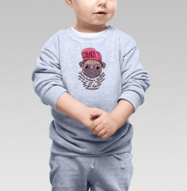 Собаки... - Купить детские свитшоты с надписями в Москве, цена детских свитшотов с надписями  с прикольными принтами - магазин дизайнерской одежды MaryJane