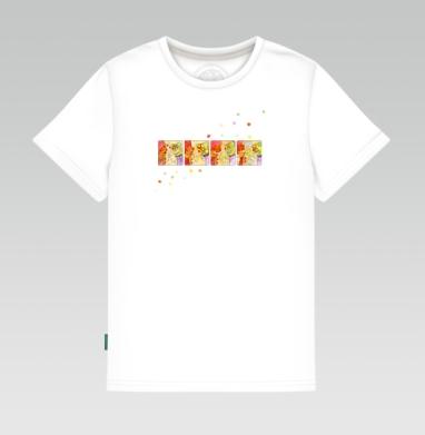 Детская футболка белая - Клоуны