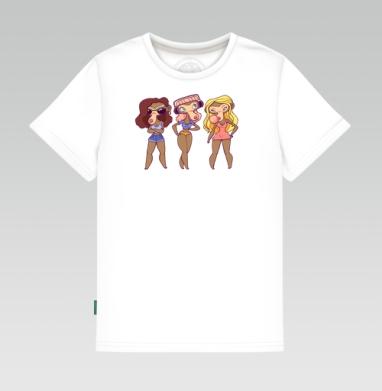 не вижу не слышу не говорю , Детская футболка белая