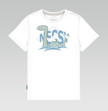 Детская футболка белая - Nessy
