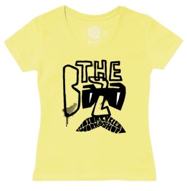 Футболка женская желтая - Зе База 1