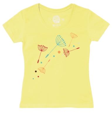Футболка женская желтая - Легко