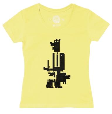 Футболка женская желтая - Менеджер