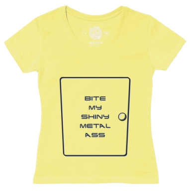 Футболка женская желтая - Bender