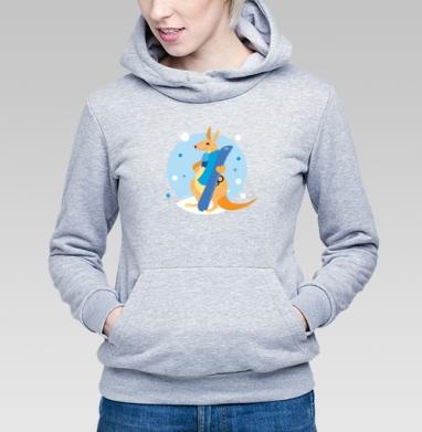Я люблю сноуборд - Купить детские толстовки спортивные в Москве, цена детских толстовок спортивных  с прикольными принтами - магазин дизайнерской одежды MaryJane