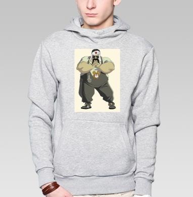 I Love Moscow! - Толстовка супермен мужская
