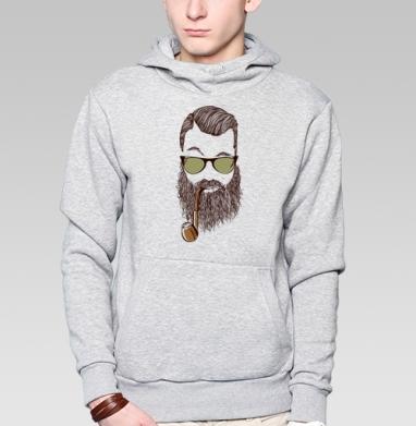Верьте мне, у меня есть борода  - Купить толстовку мужскую с капюшоном