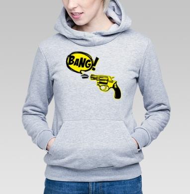 Bang! - Купить детские толстовки с оружием в Москве, цена детских  с оружием  с прикольными принтами - магазин дизайнерской одежды MaryJane