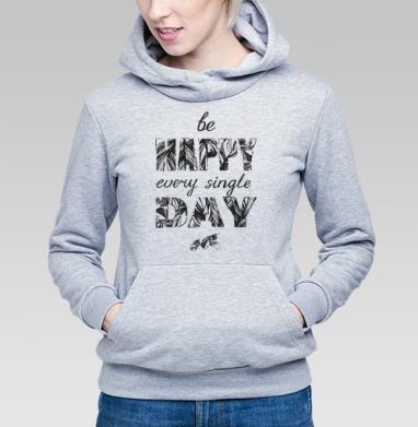 Be happy every single day - Купить детские толстовки Текстуры в Москве, цена детских  Текстуры с прикольными принтами - магазин дизайнерской одежды MaryJane