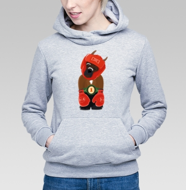 Боксёр - Купить детские толстовки спортивные в Москве, цена детских толстовок спортивных  с прикольными принтами - магазин дизайнерской одежды MaryJane