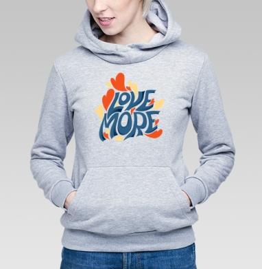 Больше любви - Купить детские толстовки романтика в Москве, цена детских толстовок романтических  с прикольными принтами - магазин дизайнерской одежды MaryJane