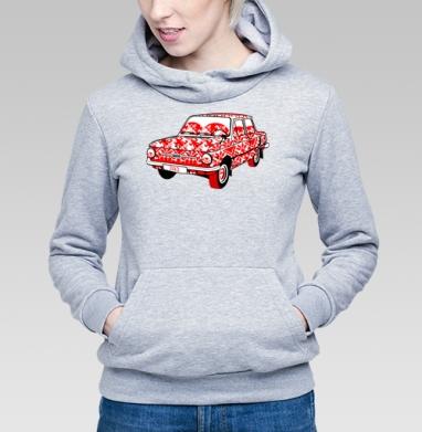Це автомобiль (Запорожец) - Купить детские толстовки Россия в Москве, цена детских толстовок Россия  с прикольными принтами - магазин дизайнерской одежды MaryJane