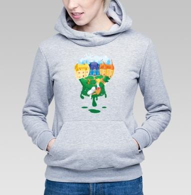 Цветной мир - Купить детские толстовки со сказками в Москве, цена детских толстовок со сказками  с прикольными принтами - магазин дизайнерской одежды MaryJane