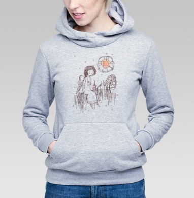 Душевный разговор ... - Купить детские толстовки с птицами в Москве, цена детских толстовок с птицами  с прикольными принтами - магазин дизайнерской одежды MaryJane
