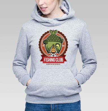 Fishing Club - Купить детские толстовки с персонажами в Москве, цена детских толстовок с персонажами  с прикольными принтами - магазин дизайнерской одежды MaryJane