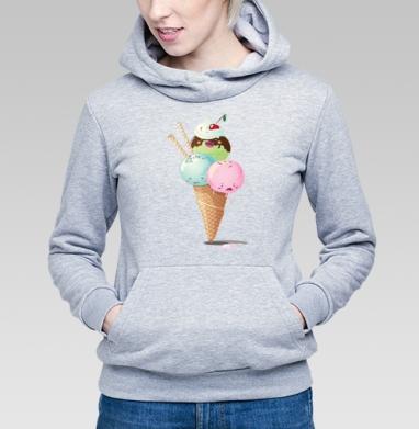 Frozen - Купить детские толстовки с мороженным в Москве, цена детских толстовок с мороженным  с прикольными принтами - магазин дизайнерской одежды MaryJane