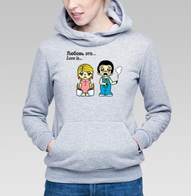 Футболки Love is...№3 - Купить детские толстовки ретро в Москве, цена детских толстовок ретро  с прикольными принтами - магазин дизайнерской одежды MaryJane