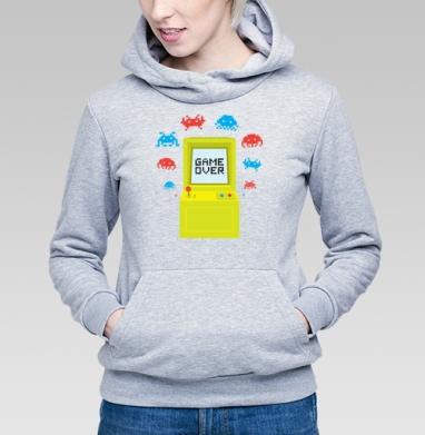 GAME OVER - Купить детские толстовки с оружием в Москве, цена детских  с оружием  с прикольными принтами - магазин дизайнерской одежды MaryJane