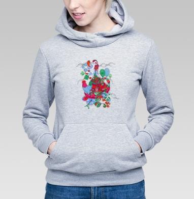 Girl - Купить детские толстовки с петухом в Москве, цена детских толстовок с петухом  с прикольными принтами - магазин дизайнерской одежды MaryJane