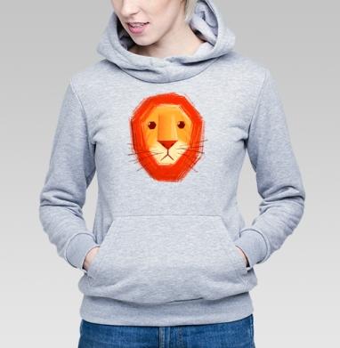 Грустный лев - Купить детские толстовки с любовью в Москве, цена детских  с любовью  с прикольными принтами - магазин дизайнерской одежды MaryJane