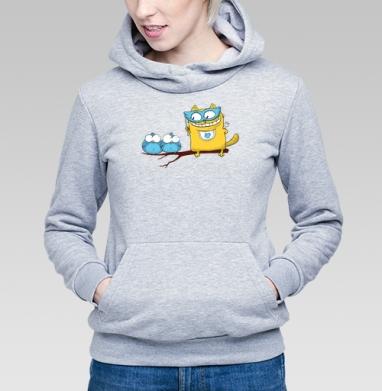 Ин-кот-нитО - Купить детские толстовки с птицами в Москве, цена детских толстовок с птицами  с прикольными принтами - магазин дизайнерской одежды MaryJane