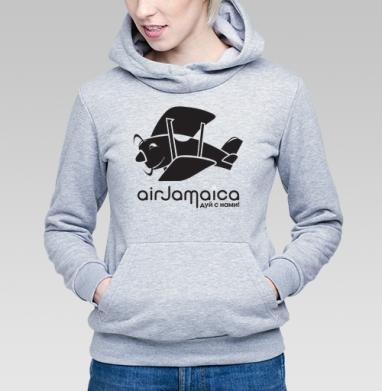 Jamaica airlines - ямайская футболка - Купить детские толстовки с дымом в Москве, цена детских толстовок с дымом  с прикольными принтами - магазин дизайнерской одежды MaryJane