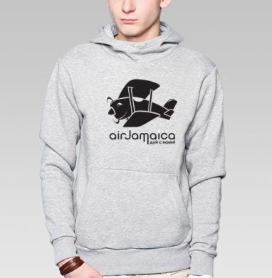 Jamaica airlines - ямайская футболка - Купить мужские толстовки Ниндзя в Москве, цена мужских  Ниндзя  с прикольными принтами - магазин дизайнерской одежды MaryJane