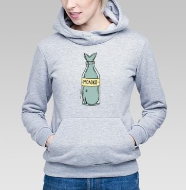 Кит в бутылке - Купить детские толстовки абстрактные в Москве, цена детских толстовок абстрактных  с прикольными принтами - магазин дизайнерской одежды MaryJane