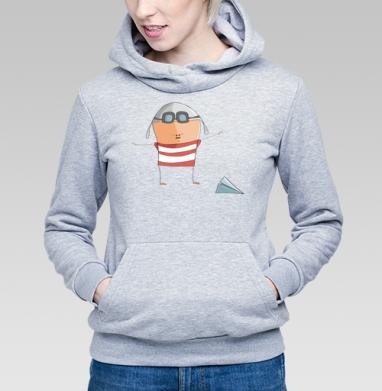 Летчик - Купить детские толстовки с людьми в Москве, цена детских толстовок с людьми  с прикольными принтами - магазин дизайнерской одежды MaryJane