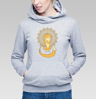 Лисья йога  - Купить детские толстовки с подарком в Москве, цена детских толстовок с подарками  с прикольными принтами - магазин дизайнерской одежды MaryJane