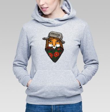 Лиса - Купить детские толстовки Россия в Москве, цена детских толстовок Россия  с прикольными принтами - магазин дизайнерской одежды MaryJane