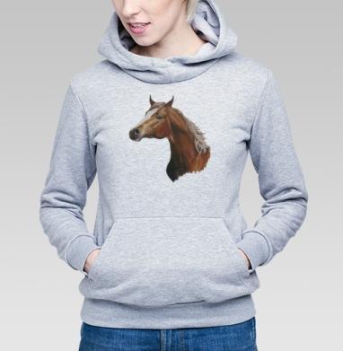 Лошадь - Купить детские толстовки с илюстрациями в Москве, цена детских толстовок с илюстрациями  с прикольными принтами - магазин дизайнерской одежды MaryJane