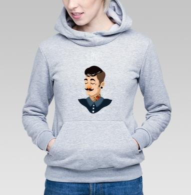 Люби усы - Купить детские толстовки с татуировками в Москве, цена детских  с татуировками  с прикольными принтами - магазин дизайнерской одежды MaryJane