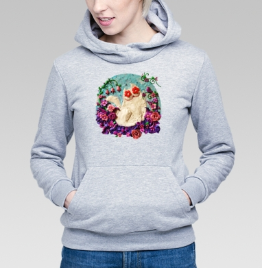 Мартовский Мур - Купить детские толстовки с роами в Москве, цена детских толстовок с розой с прикольными принтами - магазин дизайнерской одежды MaryJane