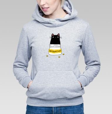 Меховой антидепрессант - Купить детские толстовки милые в Москве, цена детских толстовок милых  с прикольными принтами - магазин дизайнерской одежды MaryJane