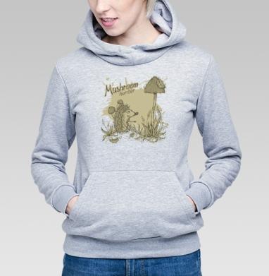Mushroom_hunter - Купить детские толстовки с грибами в Москве, цена детских толстовок с грибами с прикольными принтами - магазин дизайнерской одежды MaryJane