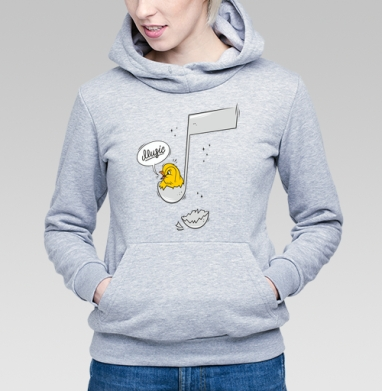 Music - Купить детские толстовки с нотами в Москве, цена детских толстовок с нотами  с прикольными принтами - магазин дизайнерской одежды MaryJane