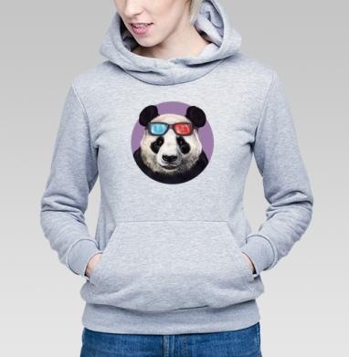 Панда и супер-очки - Толстовки женские с животными