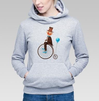 Пенни-фартинг цирк - Купить детские толстовки с велосипедом в Москве, цена детских толстовок с велосипедом  с прикольными принтами - магазин дизайнерской одежды MaryJane