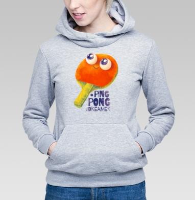 Пинг-понг дример - Купить детские толстовки с играми в Москве, цена детских толстовок с играми  с прикольными принтами - магазин дизайнерской одежды MaryJane