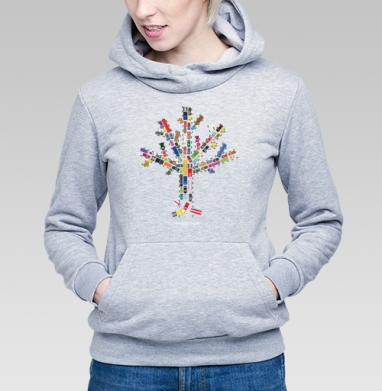 Пробковое дерево - Купить детские толстовки с автомобилями в Москве, цена детских толстовок с автомобилями  с прикольными принтами - магазин дизайнерской одежды MaryJane