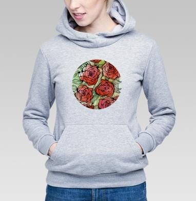 Розы - Купить детские толстовки с роами в Москве, цена детских толстовок с розой с прикольными принтами - магазин дизайнерской одежды MaryJane