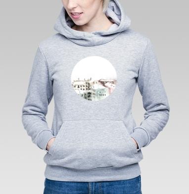 Снегопад в Москве - Купить детские толстовки с городами в Москве, цена детских толстовок с городами  с прикольными принтами - магазин дизайнерской одежды MaryJane