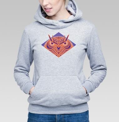 Сова - Купить детские толстовки с геометрическим рисунком в Москве, цена детских  с геометрическим рисунком  с прикольными принтами - магазин дизайнерской одежды MaryJane