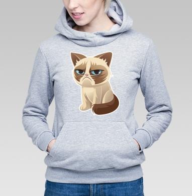 Сурове, грустне, котячне - Купить детские толстовки с кошками в Москве, цена детских толстовок с кошками  с прикольными принтами - магазин дизайнерской одежды MaryJane