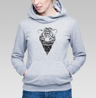 Тигр - Купить детские толстовки с графикой в Москве, цена детских толстовок с графикой  с прикольными принтами - магазин дизайнерской одежды MaryJane