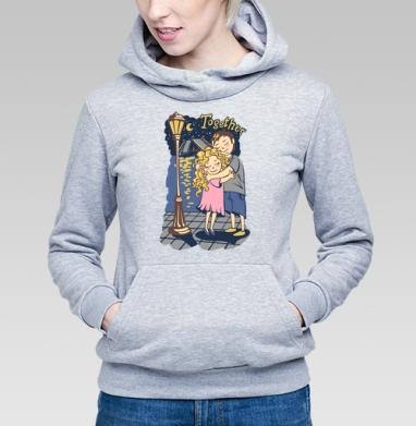 Together - Купить детские толстовки парные в Москве, цена детских толстовок парных  с прикольными принтами - магазин дизайнерской одежды MaryJane