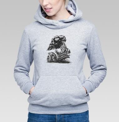Трактор пуллинг - Купить детские толстовки спортивные в Москве, цена детских толстовок спортивных  с прикольными принтами - магазин дизайнерской одежды MaryJane